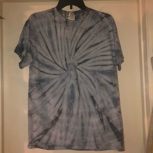 hand tie dyed t shirt